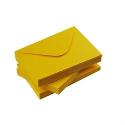 Koperta ozdobna c6 120g żółta słoneczna - żółty słoneczny