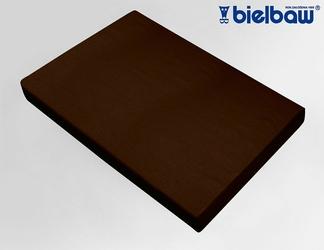 Prześcieradło Bawełniane Bielbaw Brązowe - brązowy