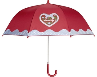 Parasol, domek, czerwony, playshoes