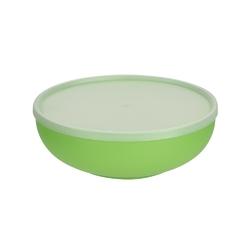 Miska plastikowa z pokrywą do przechowywania sagad 1,85 l zielona