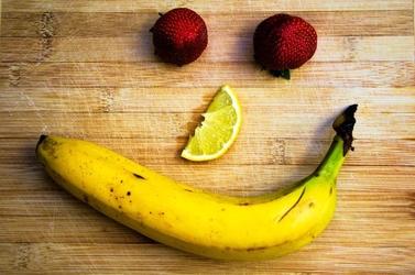 Fototapeta owoce w kształcie uśmiechu fp 1032