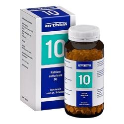 Biochemie 10 natrium sulfuricum d6 tabletki