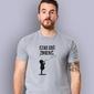 Czas coś zmienić t-shirt męski jasny melanż s