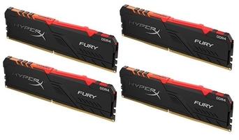Hyperx pamięć ddr4 fury rgb  64gb3600 416gb cl18