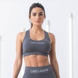 Top damski labellamafia top grey
