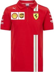 Koszulka polo scuderia ferrari f1 2020