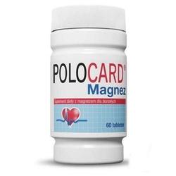 Polocard magnez 0,35g x 60 tabletek