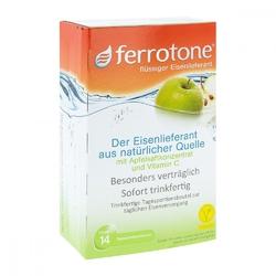 Ferrotone żelazo z koncentratem jabłkowym i witaminą c