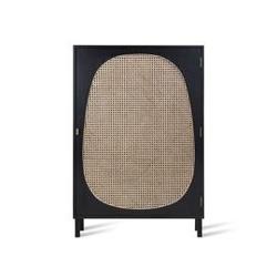 Hk living :: szafka jednodrzwiowa czarna