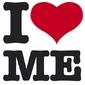 I love me - plakat