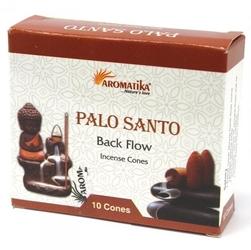 Palo santo - kadzidełka stożkowe typu backflow op. 10 szt