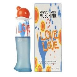 Moschino i love love perfumy damskie - woda toaletowa 50ml - 50ml