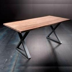 Stół catania obrzeża ciosane natur, 200x100 cm grubość 5,5 cm