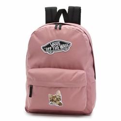 Plecak szkolny Vans Realm Nostalgia Rose Custom Kitty - VN0A3UI6UXQ