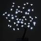 Drzewko świecące 48 led, zimne białe, bonsai kwiatki