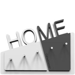 Wieszak na klucze Home CalleaDesign biały  szary 18-001-3