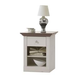 Romantyczna szafka nocna monaco sosna bielonastone