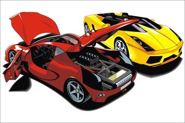 Fototapeta dla dzieci samochody 1540