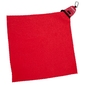 Mini ręcznik turystyczny rockland 40 x 40 cm - czerwony