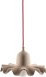 Lampa wisząca egg of columbus 26,5 cm beżowa