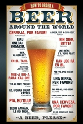 Piwo proszę - plakat