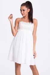 Evalola sukienka - biały17001-4