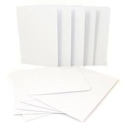 Baza do kartki A65szt. - biała - BIA
