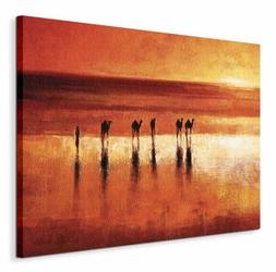 Camel Crossing - Obraz na płótnie