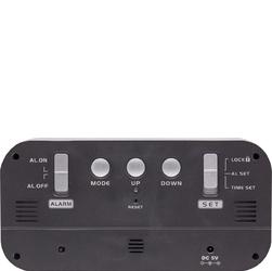 Budzik cyfrowy led loud alarm nextime czarny 5211 zw