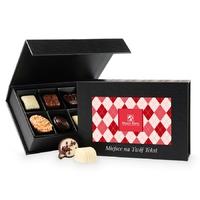 Bombonierka z okazji dnia dziadka chocolate box black mini z twoimi życzeniami