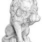 Figura ogrodowa betonowa lew 68cm
