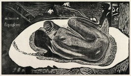 Spirit of the dead watching, paul gauguin - plakat wymiar do wyboru: 59,4x42 cm