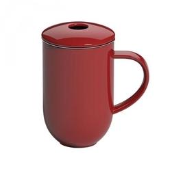 Kubek z zaparzaczem czerwony Pro Tea Loveramics