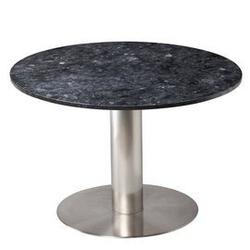 Rge :: stolik kawowy pepo okrągły srebrno-czarny śr. 105 cm