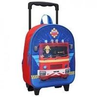 Plecak 3d fireman sam na kółkach strażak walizka