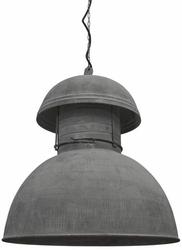 HK Living :: Przemysłowa lampa okrągła rustykalna rozm. XL
