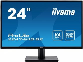 Iiyama monitor 24 x2474hs-b2 va,hdmi,dp,głośniki