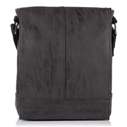 Torba męska na ramię listonoszka harolds vintage czarna