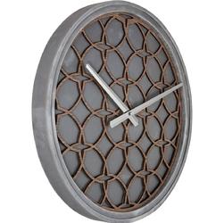 Zegar ścienny concrete love nextime 3212 br