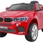 Samochód na akumulator bmw x6m czerwony lakier metalik + pilot