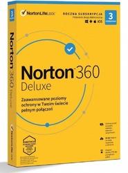 Oprogramowanie norton 360 deluxe pl 1 użytkownik, 3 urządzenia, 1 rok
