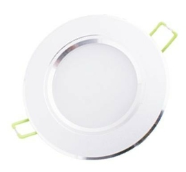Oprawa sufitowa downlight led 5w - 4000k - neutralny - biała obudowa