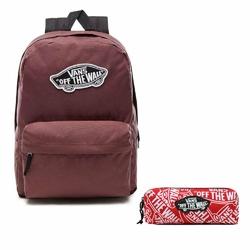 Zestaw Plecak szkolny VANS Realm Backpack + Piórnik Vans