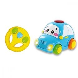 Smily pojazd sterowany z kierownica