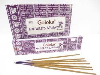 Kadzidełka goloka natures lavender lawenda - 15g