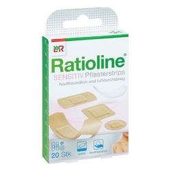 Ratioline sensitive pflasterstrips in 4 groessen