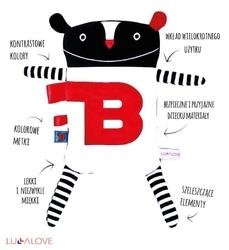 Lullalove super zabawka przytulanka termofor - mr b