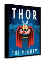 Marvel deco thor - obraz na płótnie