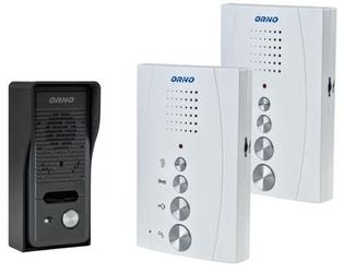Domofon orno głośnomówiący or-dom-re-920w 2 unifony - szybka dostawa lub możliwość odbioru w 39 miastach