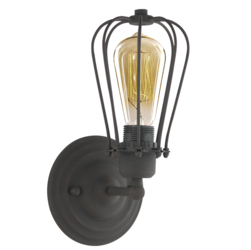Altavola Design :: Rdzawy kinkiet Kopenhagen Loft dark rusty